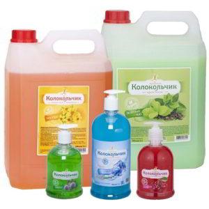 Жидкое мыло оптом от производителя ТБХ