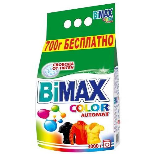 Бимакс стиральный порошок 3 кг автомат Колор