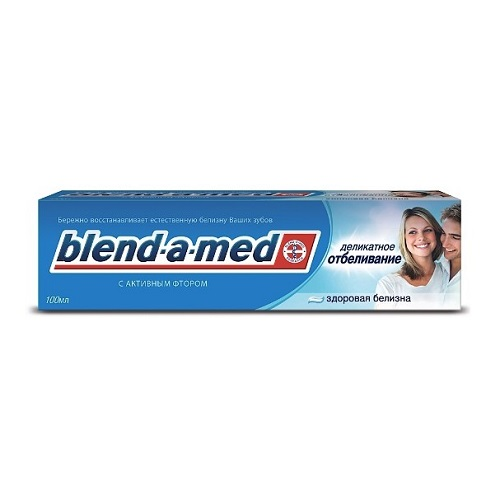 Blend-a-med 3D Эффект Деликатное отбеливание 100 мл