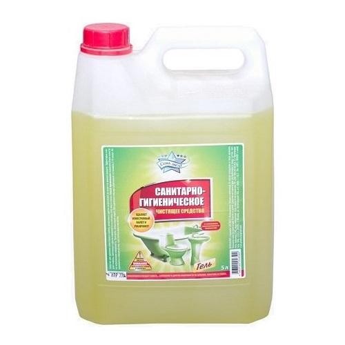 Чистящее средство Семь Звёзд Санитарно-гигиеническое 5 л