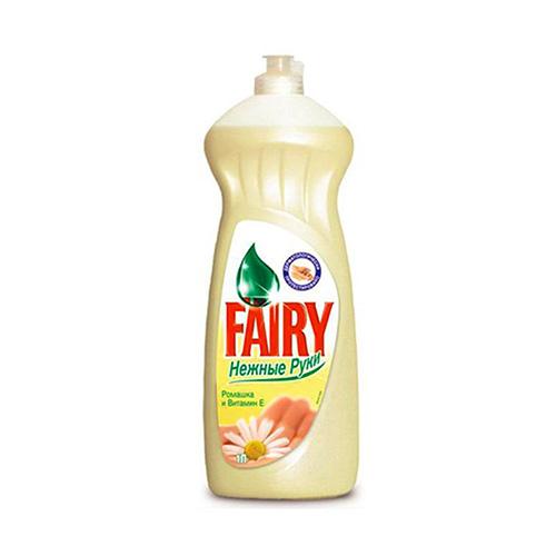 Cредство для мытья посуды FAIRY 1л Нежные ручки Ромашка и витамин Е