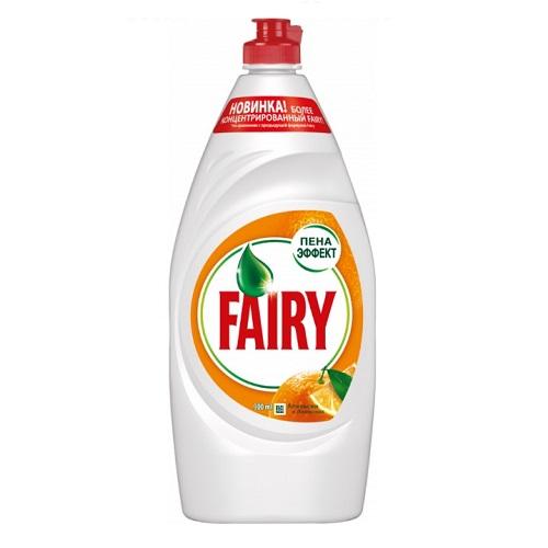 Средство для мытья посуды Fairy Апельсин 900 мл