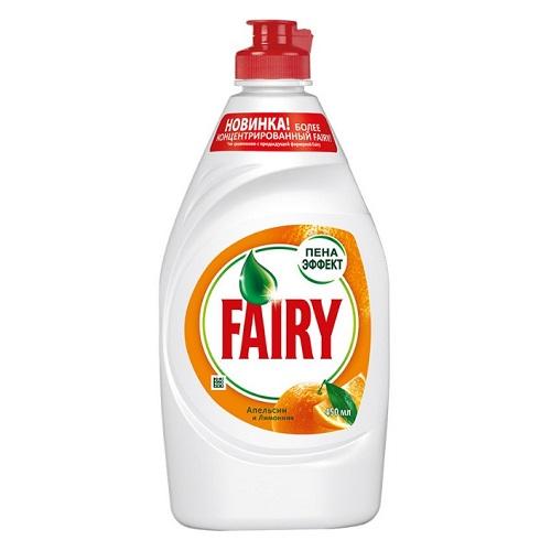 Средство для мытья посуды Fairy Апельсин и лимонник, 450 мл