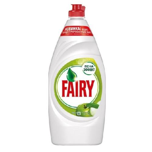 Средство для мытья посуды Fairy Зеленое яблоко 900 мл