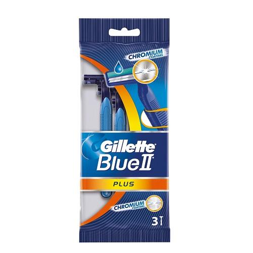Станок для бритья одноразовый GILLETE Blue 2 плюс 3 шт. для чувствительной кожи
