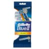 Станок для бритья одноразовый GILLETE Blue 2 плюс 5 шт. для чувствительной кожи
