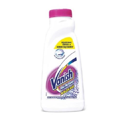 VANISH Oxi Action Кристальная белизна Пятновыводитель + Отбеливатель для тканей 450 мл