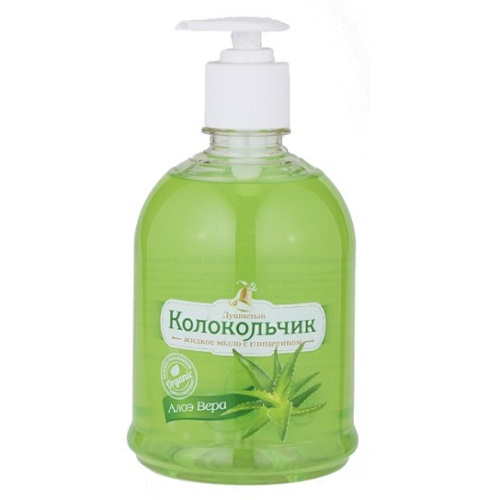 Жидкое мыло «Алоэ-вера» 0,5л
