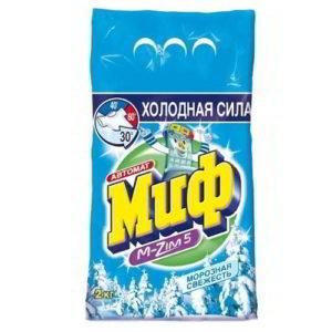 """Стиральный порошок """"Миф Морозная свежесть"""" 2 кг"""