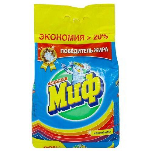 """Стиральный порошок """"Миф Свежий цвет"""" 2 кг"""