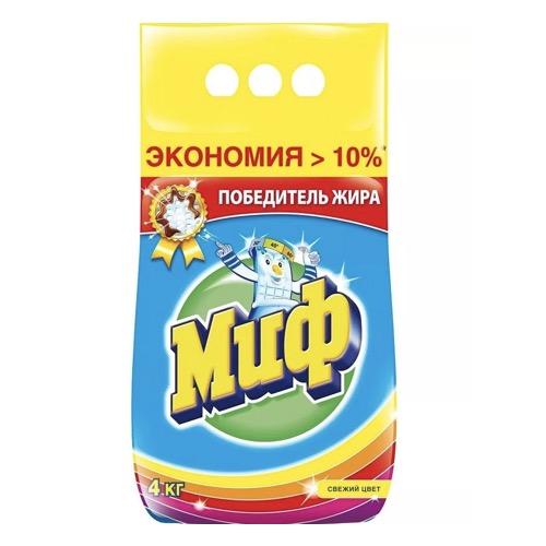"""Стиральный порошок """"Миф Свежий цвет"""" 4 кг"""