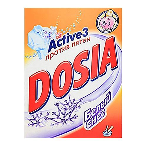 """Стиральный порошок для ручной стирки """"Dosia Белый снег"""" 365 г"""