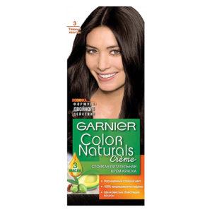 """Краска для волос """"Color Naturals Темный каштан (3)"""" 110 мл"""