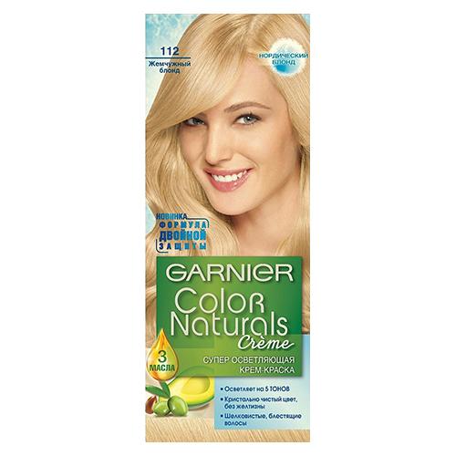 """Краска для волос """"Color Naturals Жемчужный блонд (112)"""" 110 мл"""