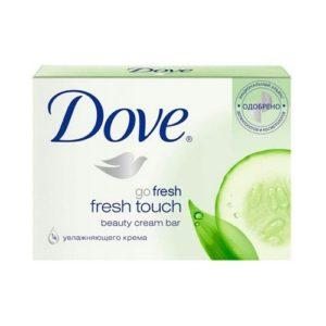 """Крем-мыло """"Dove Прикосновение свежести"""" 135 г"""