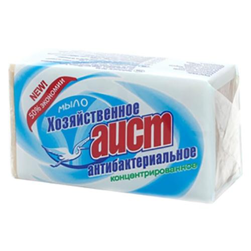 """Мыло хозяйственное """"Аист Антибактериальное"""" 200 г"""