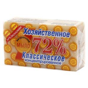 """Мыло хозяйственное """"Аист Классическое 72%"""" 150 г"""