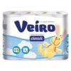 """Туалетная бумага """"Veiro Classic"""" 12 шт"""