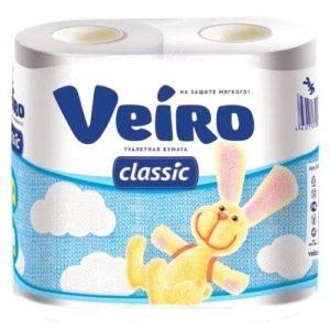 """Туалетная бумага """"Veiro Classic"""" 4 шт"""