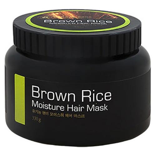 "Маска для волос ""Brown Rice Moisture hair mask"" 330 мл"