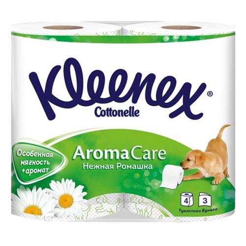 """Туалетная бумага """"KLEENEX Трехслойная"""