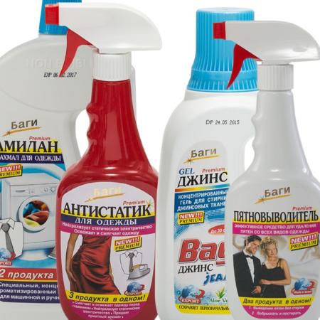 Производитель чистящих средств BAGI (Баги)