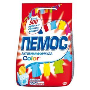 """Стиральный порошок """"Пемос Color"""" 3"""