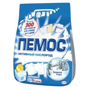 """Стиральный порошок """"Пемос Зимнее утро"""" 2 кг"""