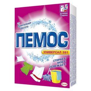 """Стиральный порошок для ручной стирки """"Пемос Универсал 3 в 1"""" 350 г"""