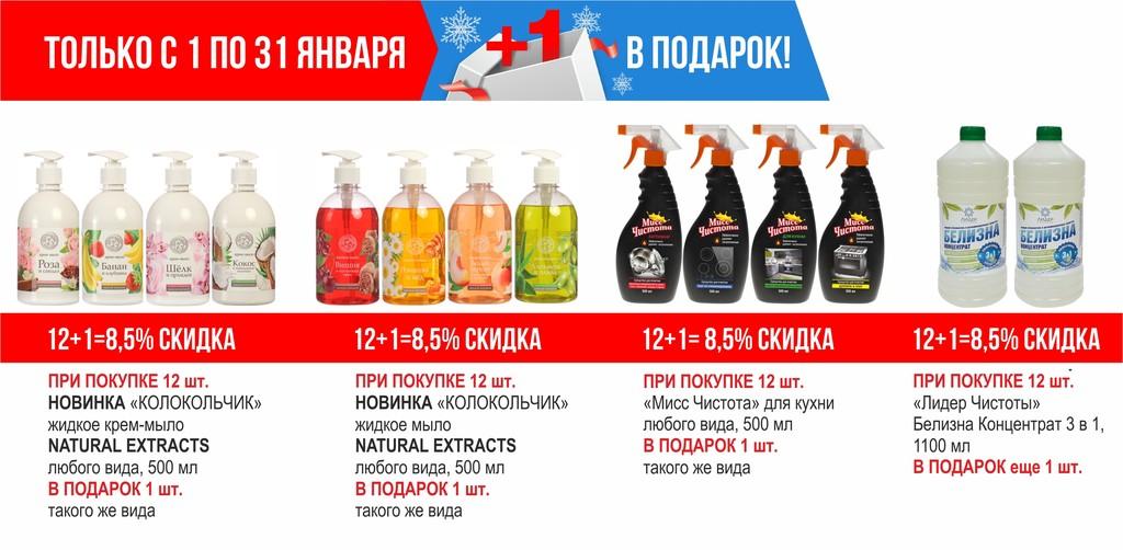 ТБХ январь акции