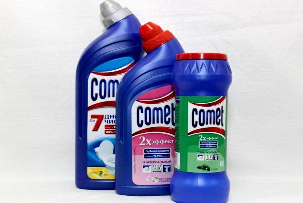 Comet эффективные чистящие средства для дома