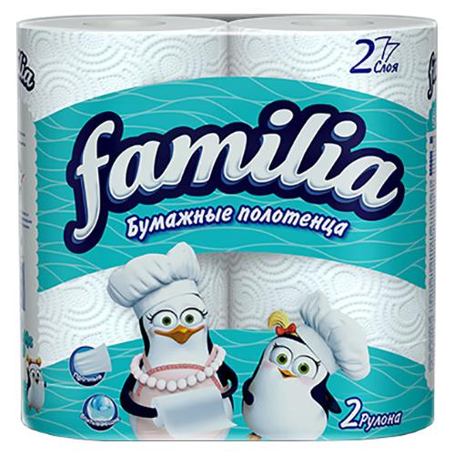 "Полотенца ""Familia Plus"" 2 шт"