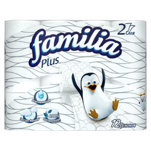 "Туалетная бумага ""Familia Plus"" 12 шт"
