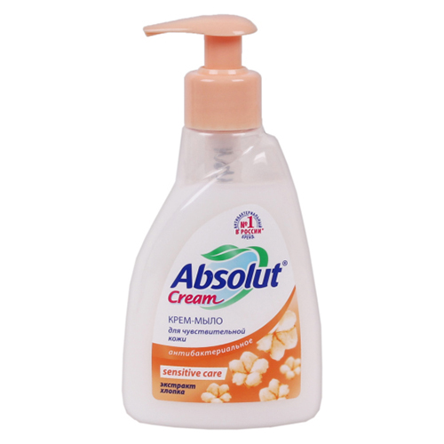 "Жидкое мыло ""Absolut Cream Sensitive Care"" 250 мл"