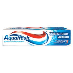 """Зубная паста """"Aquafresh Освежающе-мятная"""" 100 мл"""
