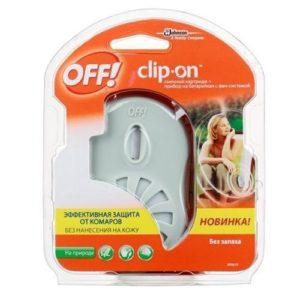 """Прибор с фен-системой и сменным картриджем """"OFF Clip-On"""" 1 шт"""