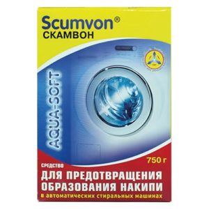 """Средство от накипи """"Scumvon Для автоматических стиральных машин"""" 750 г"""