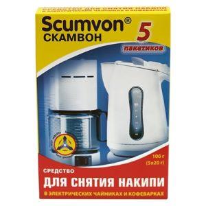 """Средство от накипи """"Scumvon Для чайников и кофеварок"""" 100 г"""
