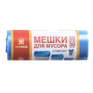 Мешки для мусора Комфорт UFAPACK 30 л 30 шт