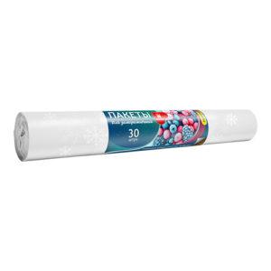 Пакеты для ЗАМОРАЖИВАНИЯ продуктов ПВД Уфа ПАК 25на38 30 штук артикул ПЗ6057