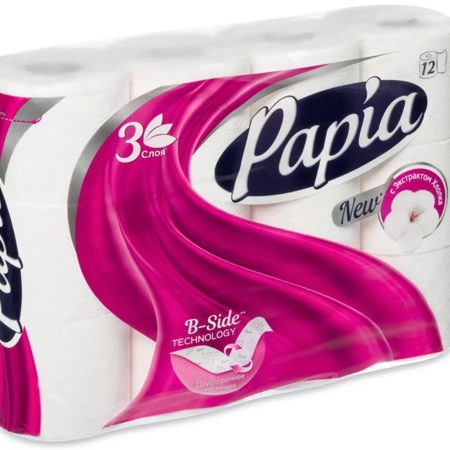 Бумага Papia: мягкое очищение и комфорт