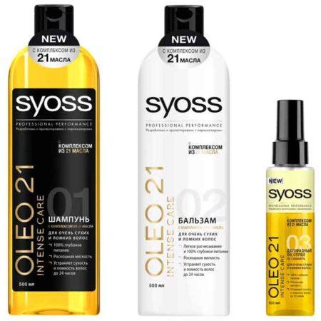 Syoss: профессиональный уход за волосами не выходя из дома