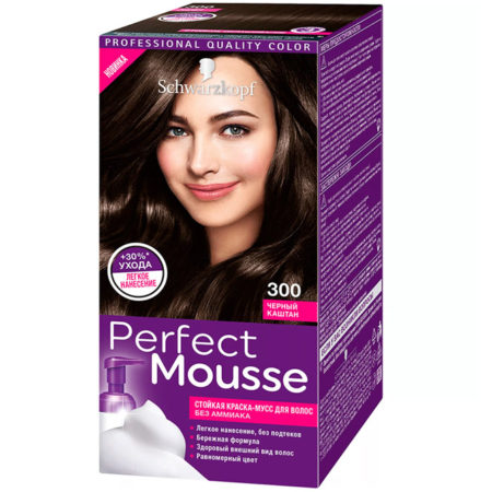 PеrfectMousse: профессиональное окрашивание волос в домашних условиях