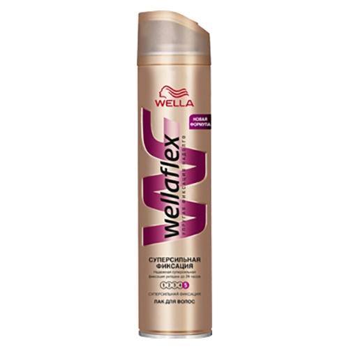 """Лак для волос Wellaflex """"Суперсильной фиксации"""", 250 мл"""