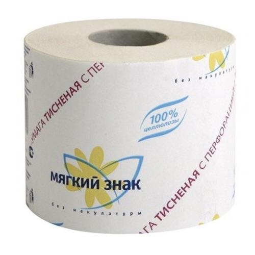 """Туалетная бумага """"Мягкий знак"""", 1 шт"""