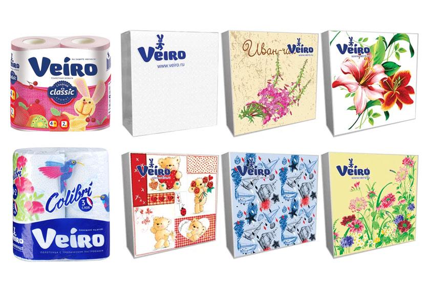 Бумажная продукция Veiro (Веиро)