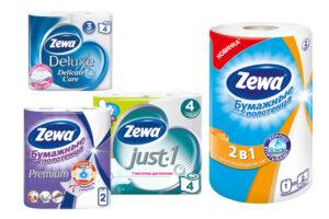 Туалетная бумага Zewa(Зева) оптом