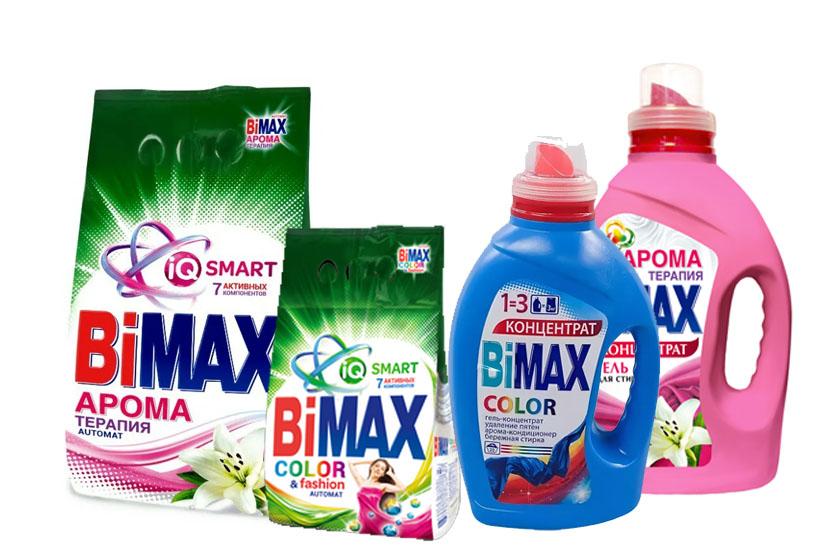 Стиральные порошки BiMAX (БиМАКС) оптом