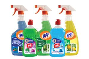 Средства для уборки Help (Хелп)оптом