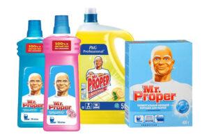 Чистящие и моющие средства для уборки Mr. Proper (Мистер Пропер)оптом